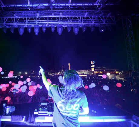 Skrillex en el Life Is Beautiful Festival 2014