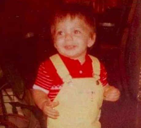 Pitbull cuando era pequeño