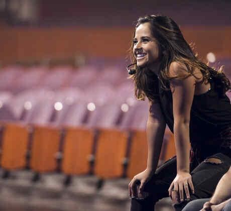 Becky G ensayos  Latin American Music Awards 2016