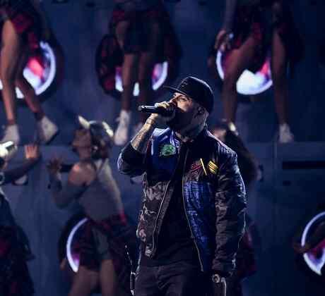 Nicky Jam - Latin American Music Awards 2016
