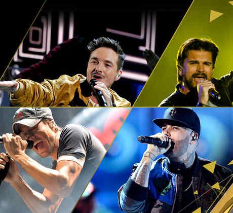 J Balvin Juanes Enrique Iglesias Nicky Jam iHeart Radio