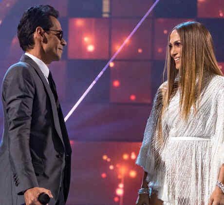 Jennifer Lopez y Marc Anthony en Latin Grammy 2016