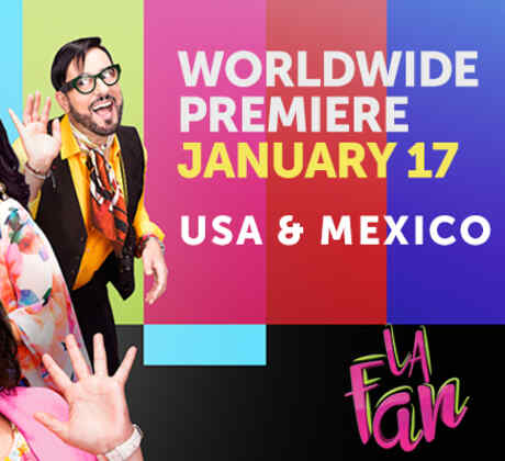 La Fan_Worldwide Premiere_Poster