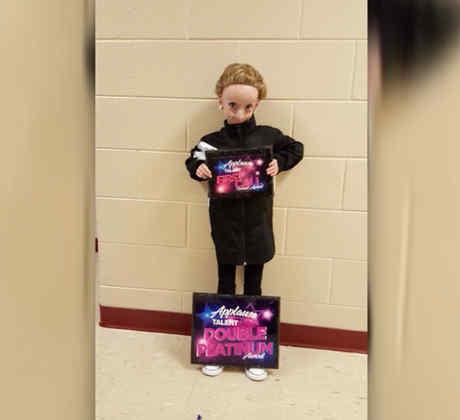 La niña que envejece rápidamente baila Hip Hop para evitar que su cuerpo se paralice (VIDEO)
