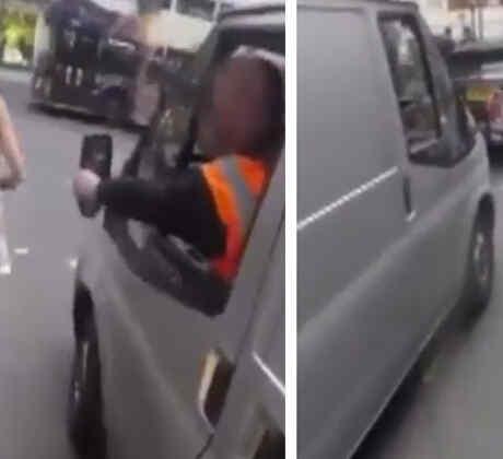 Así es la venganza de una mujer que es acosada en la en plena vía (VIDEO)