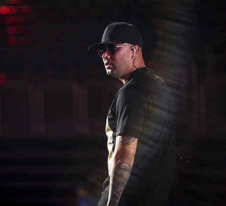 Wisin - Día 1 de Ensayos Premios Billboard 2017
