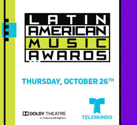 Promocional Latin American Music Awards 2017.