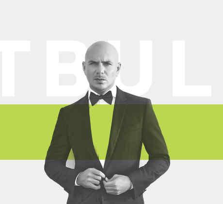 Pitbull recibe premio especial en los Latin AMAs 2017.