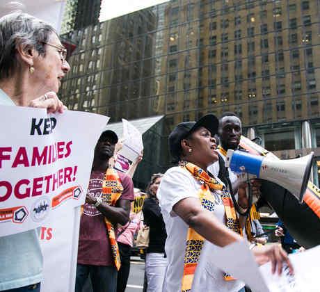 Marcha en New York, en defensa del TPS