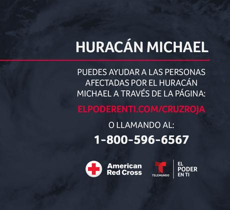 Ayuda a los afectados por el huracán Michael