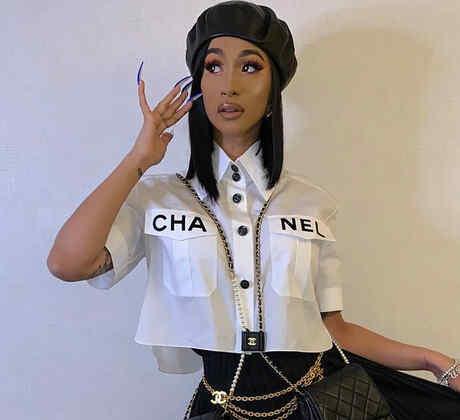Cardi B en Chanel