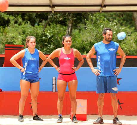 Sofía, Gómez, Dennhi Callu, Karely López y Daniel Martín