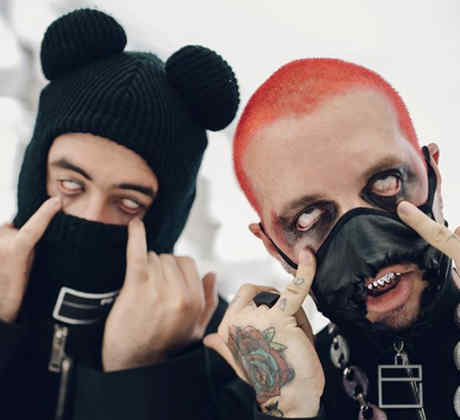 """Spanish Trap Goes Goth: J Balvin and Bad Bunny Release a New Video for """"Cuidao Por Ahí"""""""