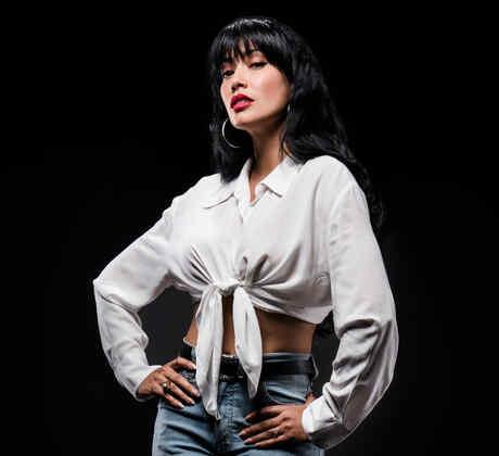 Maya Zapata es Selena Quintanilla