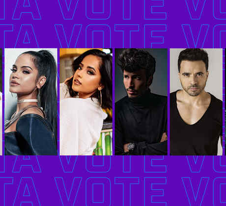 2019 Latin Amas: You Have 9 Days to Vote for Your Favorite Artists