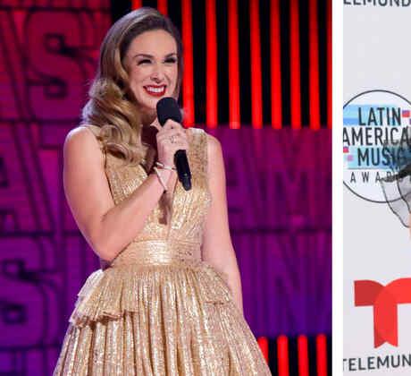 Los vestidos de Jacky Bracamontes en los Latin AMAs 2019