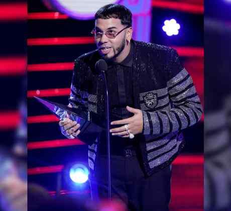Anuel AA, el máximo ganador de los Latin AMAs 2019