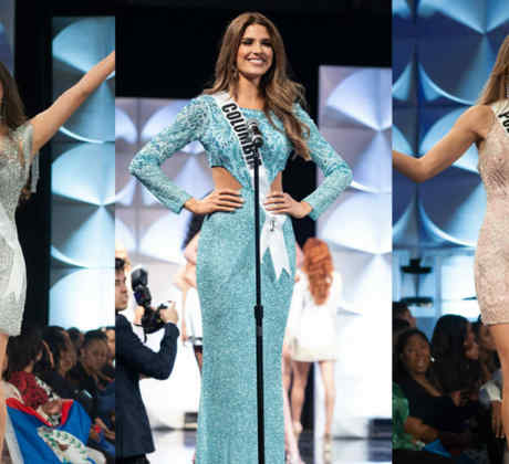 Miss México, Miss Colombia, Miss Puerto Rico