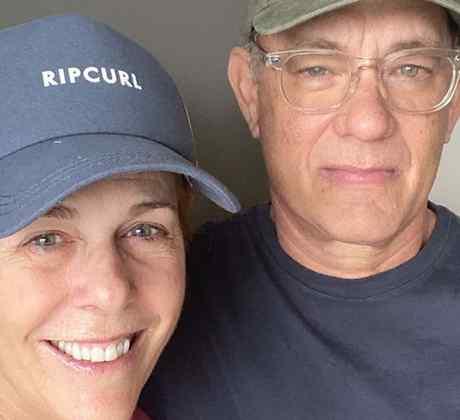 Tom Hanks y su esposa, la también actriz Rita Wilson