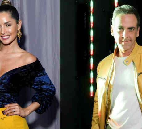 Carmen Villalobos and Carlos Ponce Stay at Home Campaign