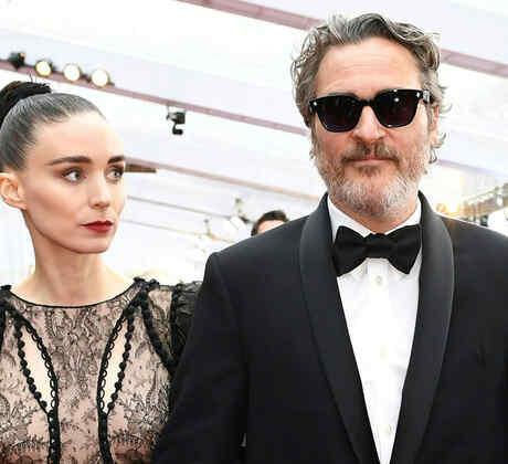 Joaquin Phoenix y Rooney Mara en Dolby Theatre en Hollywood