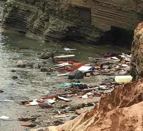 El naufragio del barco donde viajaban alrededor de 30 personas cerca de San Diego