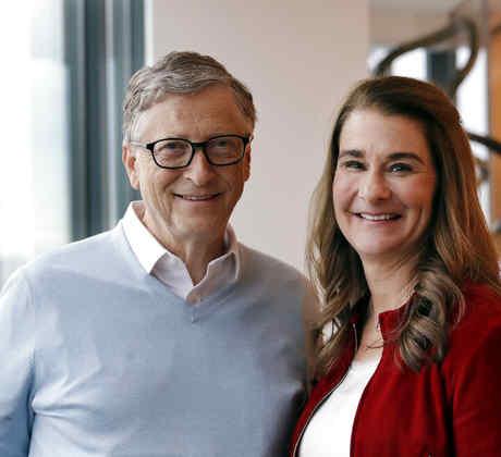 Bill Gates y Melinda Gates en una fotografía de archivo