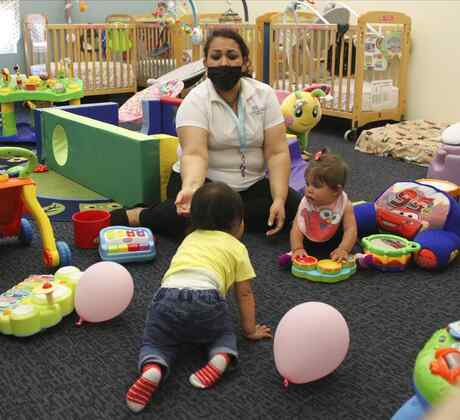 Guardería infantil en Albuquerque para madres de escasos recursos