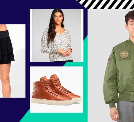 4 outfits para salir muy casual o estar cómodos en casa   Telemundo