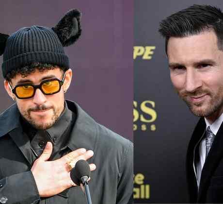 Bad Bunny y Lionel Messi