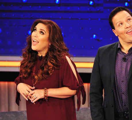 """Angelica y Raul en el tercer show de """"Que Noche"""""""