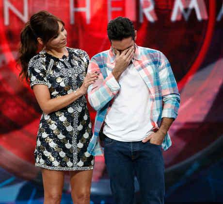 Giselle y Rafael en la primera gala de expulsión