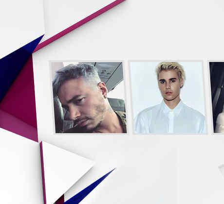 J Balvin, Justin Bieber y Maluma