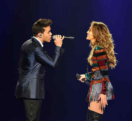 Prince Royce and Jennifer Lopez Latin Billboards