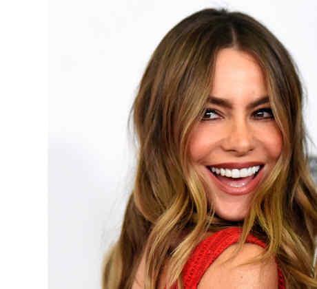 Sofia Vergara posa en la alfombra roja