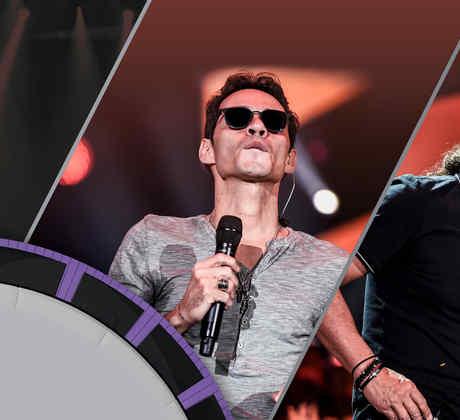Marc Anthony y Marco Antonio Solís ensayos Premios Billboard 2016