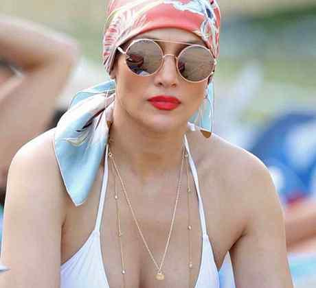 Jennifer Lopez en Miami Beach
