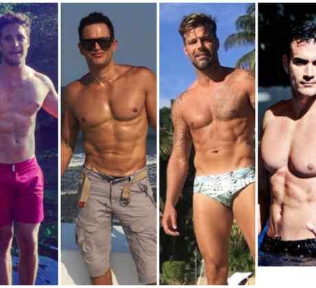 Diego Boneta, Julio Camejo, Ricky Martin, David Zepeda