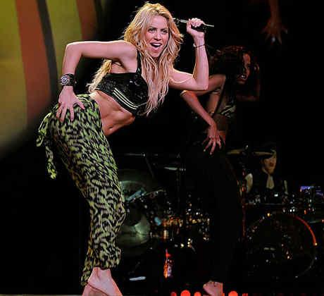 Shakira en concierto en Madison Square Garden