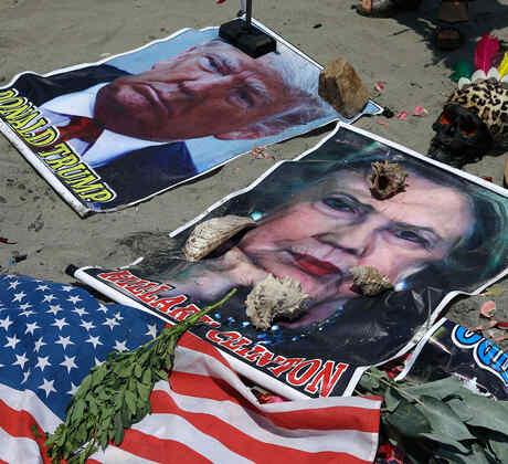 Chamanes peruanos predicen presidente de los Estados Unidos