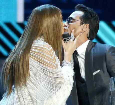 Jennifer Lopez y Marc Anthony en los Latin Grammys