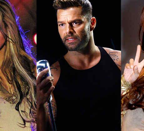 Cantantes que fueron actores, Anahí, Ricky Martin, Shakira