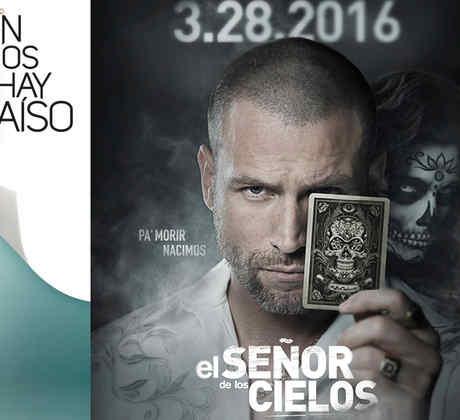 Series del 2016, club de novelas, Sin senos sí hay paraíso, El señor de los cielos