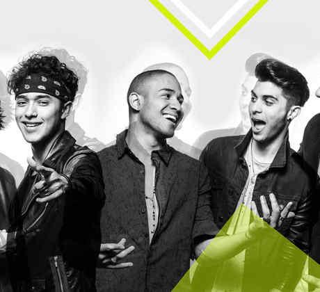 CNCO - Ensayos día 2 Premios Billboard 2017