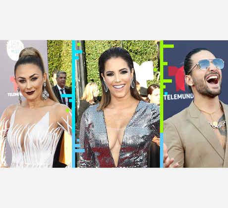 Promo alfombra roja Latin American Music Awards 2018
