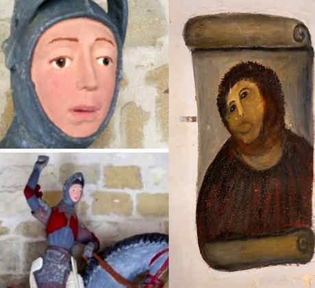 Epic fails de restauración de arte