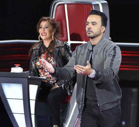 Alejandra Guzmán y Luis Fonsi