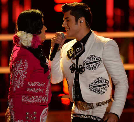 Lluvia Vega y Rubén Sandoval