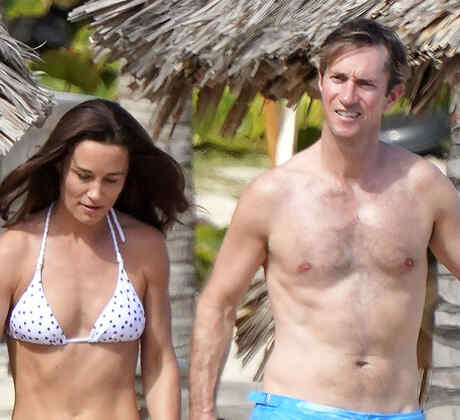 Pippa Middleton y su esposo James Matthews