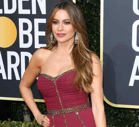 Sofía Vergara en los Golden Globes 2020